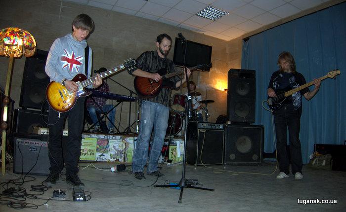 The Blues Nephews в Луганске, чилаут Донбасс.