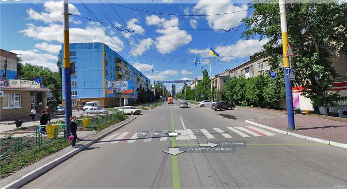 Панорамы Луганска: поселок Юбилейный.