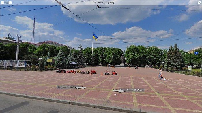 "Панорама Луганска: ""дураковка""."