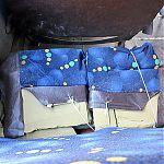 Пришедшее в негодность кресло в 132-й маршрутке, Луганск.