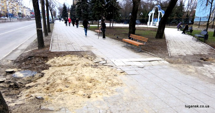 ул. Советская, Луганск.