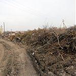 Свалка в пгт Юбилейный, Луганск.