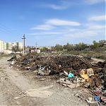 пос. Юбилейный, Луганск, свалка в промышленных масштабах.