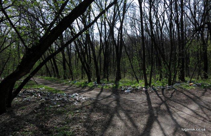 парк Горького, Луганск, 20.04.13