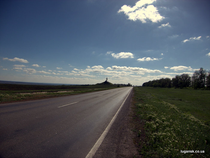 Еременко на бахмутке, Луганская область.