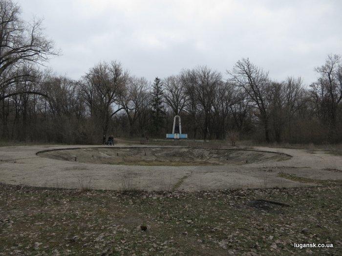 Наверное это был фонтан, Парк Горького в Луганске.