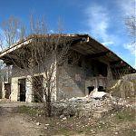 Руины в парке Горького, Луганск.