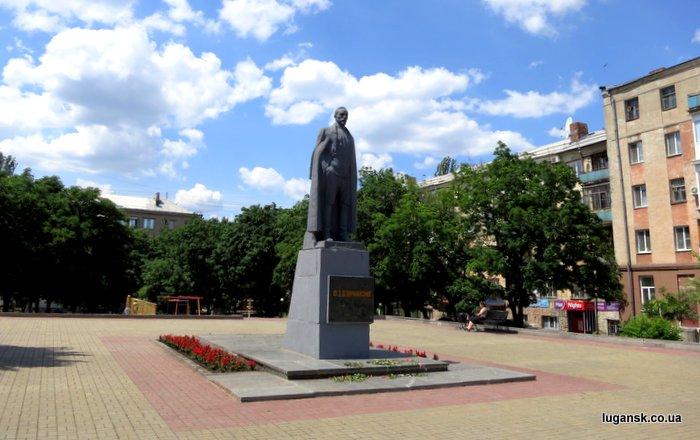 Памятник Дзержинскому в сквере пограничников, Луганск.