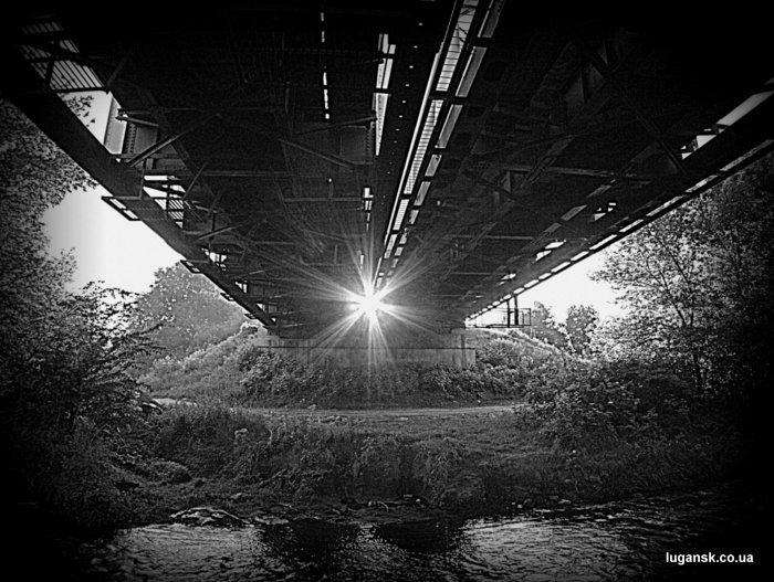 Железнодорожный мост на р. Белая.