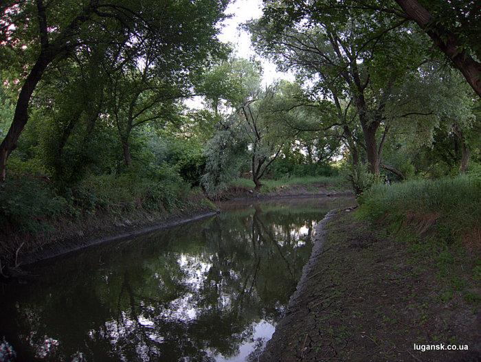 Река Белая, устье.