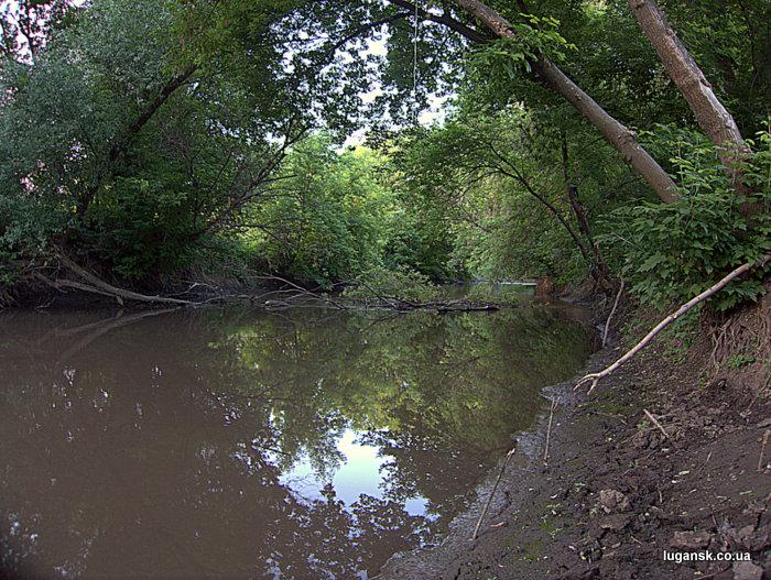 Река Лугань.