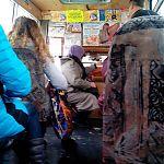 В Луганской маршрутке.