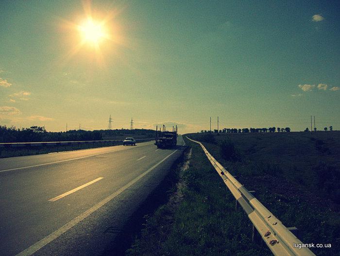 Объездная дорога, Луганск.