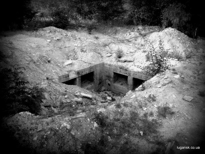Руины по дороге в Желтое.