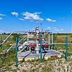 Газопровод в Крутой Горе.
