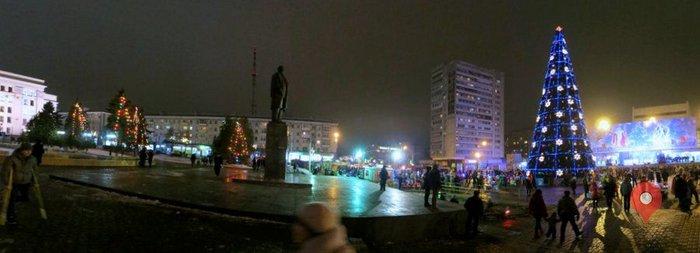 Главная йолка Луганска