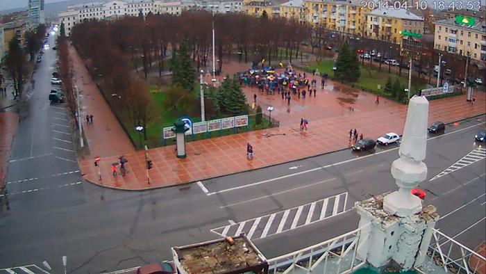 Луганск за мир и порядок.