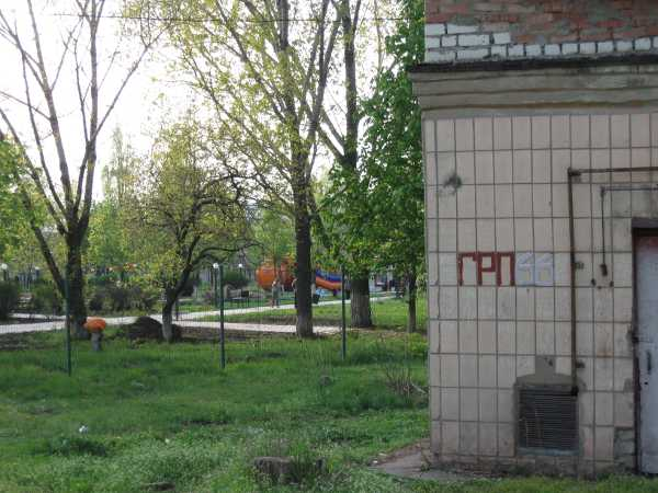 """Газораспределительный пункт рядом с """"Юбилейным парком"""""""