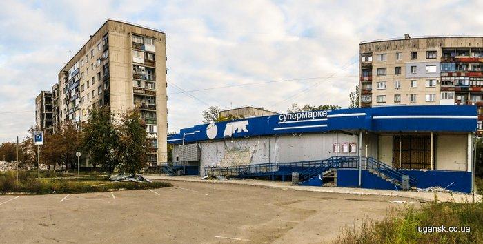 Разрушения на РТИ в Лисичаснке.