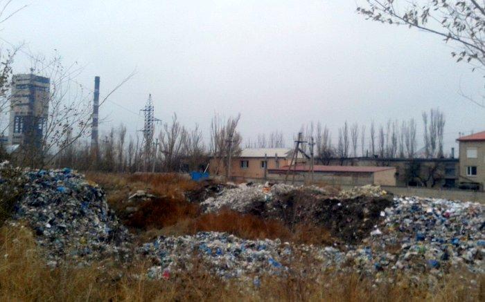 Свалка, Юбилейный, Луганск