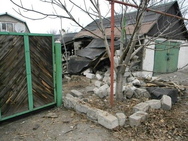 Кировск, обстрел, разрушения.