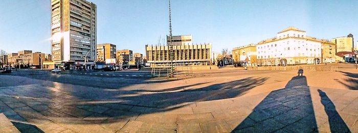 Новогодняя елка в Луганске 2014 2015
