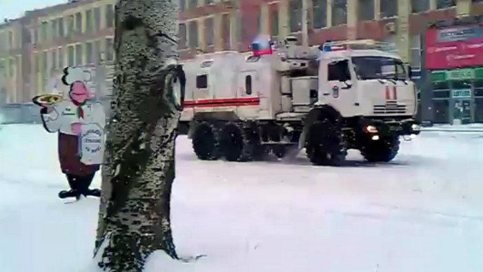 Гумконвой в Луганске 9-й