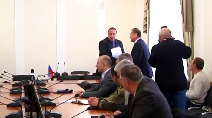 Манолис Пилавов «мэр» Луганска