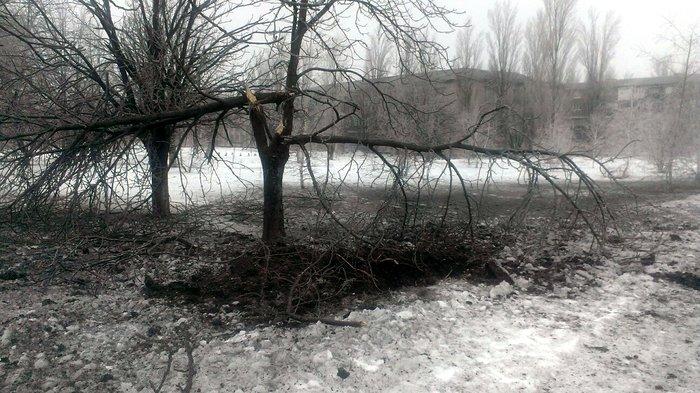 Кировск, обстрел, разрушения