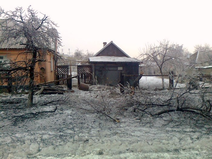Попасная, обстрел, разрушения 24 января