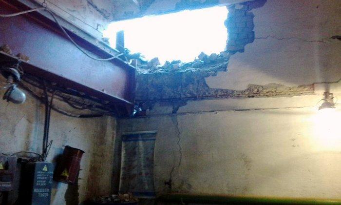 Луганская ТЭС, Счастье, обстрел, разрушения