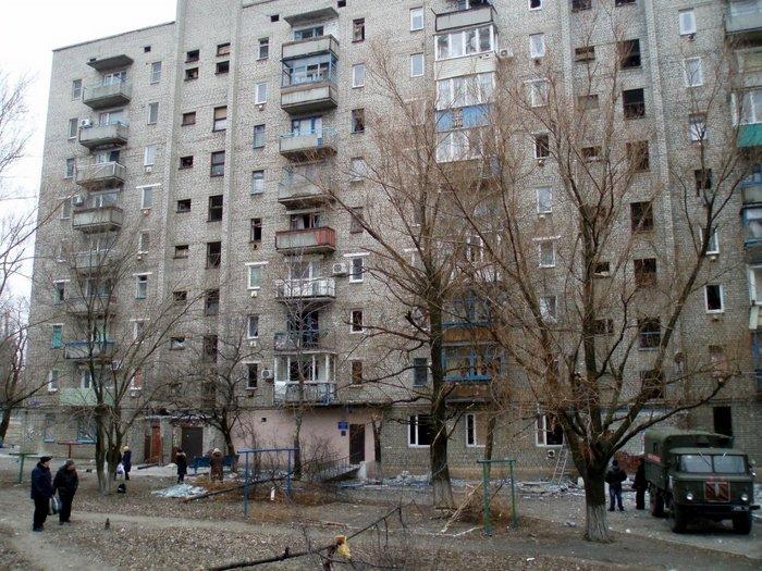 Кировск обстрел разрушения 7 февраля