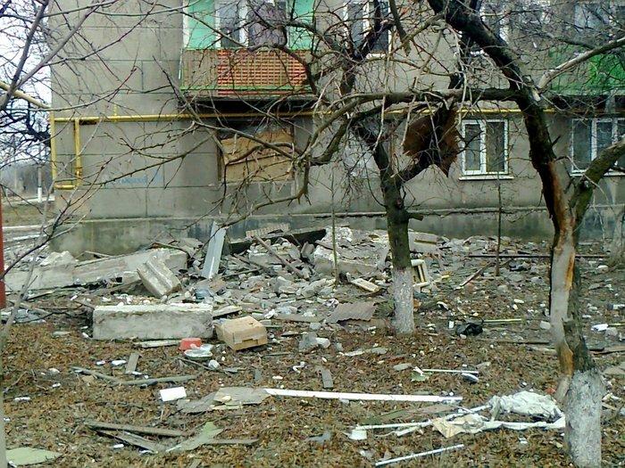 Попасная обстрел разрушения 6 февраля