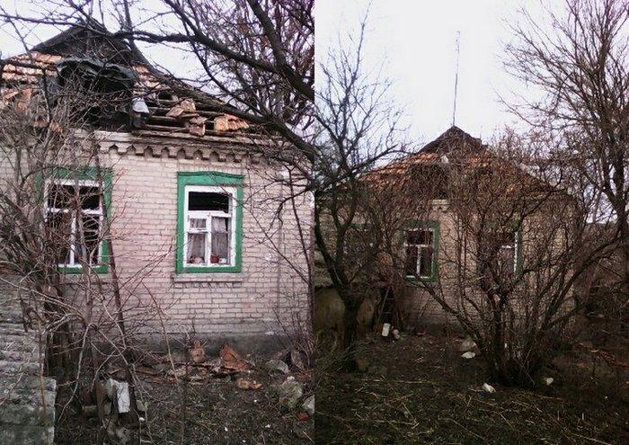 Ивановка, разрушения, обстрел
