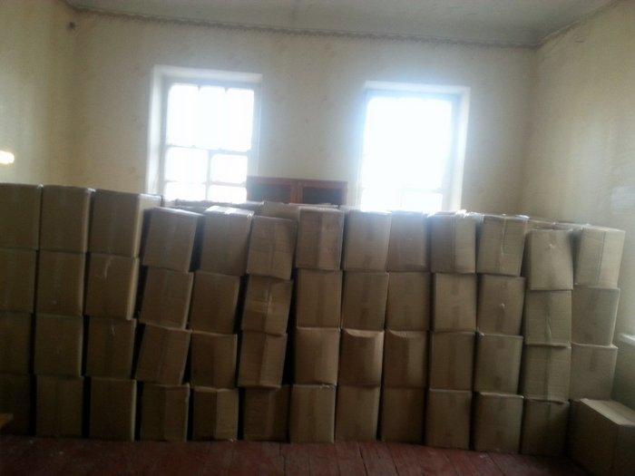 Тошковка Украина гуманитарная помощь красный крест