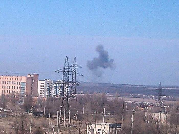Луганск взрыв 9 марта