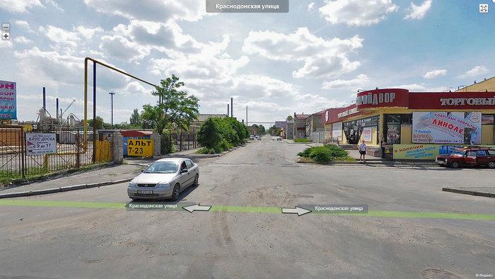 Переулок Краснодонский, Луганск Гюнсел доставка грузов