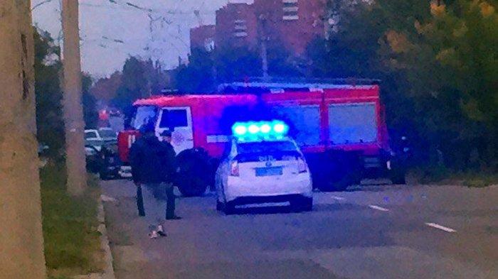 Взрыв в Луганске 8 октября 2016 г.