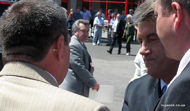Телохранители Ющенко прощелкали осу