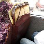 Маршрутные такси Луганска - сараи на колесах.