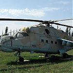 МИ-24Р Вертолет радиационно-химической разведки