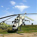 МИ-24К Вертолет корректировщик разведки