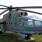 МИ-24А Серийный транспортно-боевой вертолет