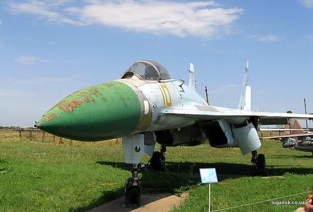 СУ-27 Истребитель-перехватчик