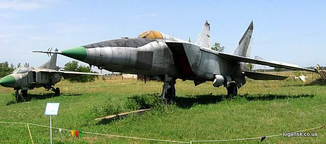 МИГ-25 Истребитель-перехватчик