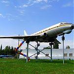 ТУ-124Ш Военно-транспортный самолет