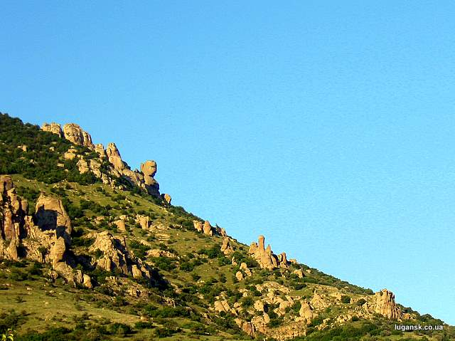 Долина приведений бюст Екатерины II
