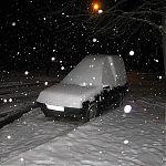 пос. Юбилейный, Луганск, зима, декабрь