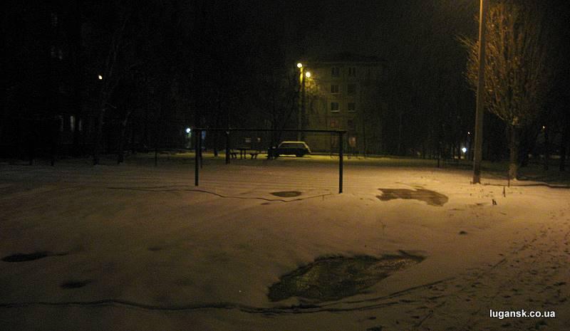 Юбилейный в снегу