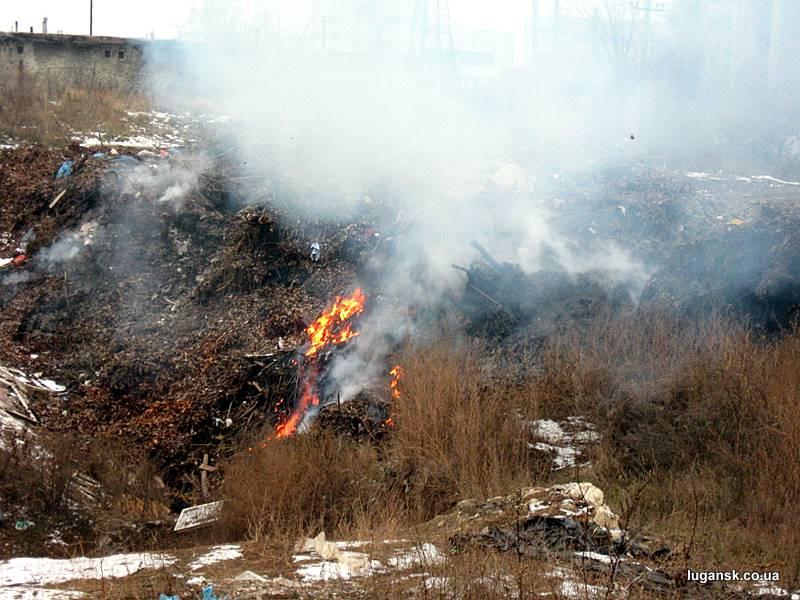 поселок Юбилейный Луганск в огне